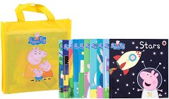 Peppa Pig: Collection of 10 storybooks - Yellow bag - пъзел