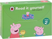 Peppa Pig: Read it yourself with Ladybird - level 2 : Collection of 5 storybooks - пъзел
