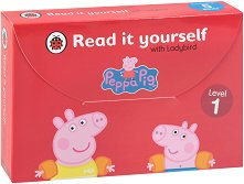 Peppa Pig: Read it yourself with Ladybird - level 1 : Collection of 5 storybooks - пъзел