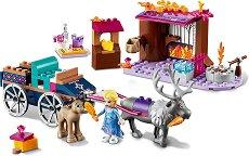 LEGO: Замръзналото кралство - Приключението на Елза с каляска - играчка