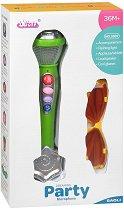 Микрофон с очила - Детска интерактивна играчка -