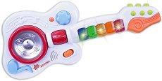 Бебешка електронна рок китара - Детски музикален инструмент -