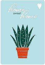 Поздравителна картичка - Home sweet home -