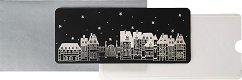 Поздравителна картичка-плик - Зимна нощ - продукт