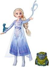 """Елза, дядо Паби и саламандър - Комплект играчки от серията """"Замръзналото кралство 2"""" -"""