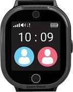 Детски GPS и GSM смарт часовник с тъч скрийн - MyKi Watch 4 Lite Black - Работещ със SIM карти на всички български мобилни оператори