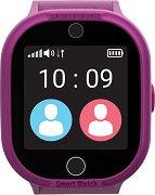 Детски GPS и GSM смарт часовник с тъч скрийн - MyKi Watch 4 Lite Pink - Работещ със SIM карти на всички български мобилни оператори
