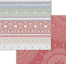 Хартия за скрапбукинг - Цветни орнаменти