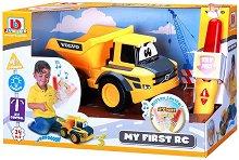 "Самосвал - Volvo - Детска играчка с дистанционно управление от серията ""Junior"" - играчка"