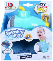 """Подводница с прожектор - Детска играчка за баня със светлинни ефекти от серията """"Junior"""" -"""