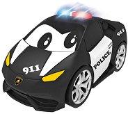 """Полицейска кола - Lamborghini - Детска играчка със светлинни и звукови ефекти от серията """"Junior"""" -"""