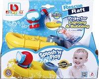 """Спасителна лодка - Детска играчка за баня със светлинни ефекти от серията """"Junior"""" - играчка"""