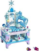 """Замръзналото кралство: Кутията за бижута на Елза - Детски конструктор от серията """"Принцесите на Дисни"""" -"""
