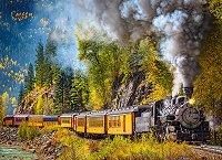 Пътешествие с парен локомотив - пъзел