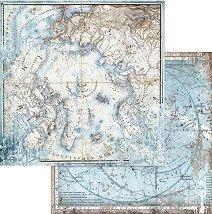 Хартия за скрапбукинг - Арктика