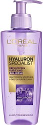"L'Oreal Hyaluron Specialist Replumping Purifying Gel Wash - Почистващ гел за лице с хиалуронова киселина от серията ""Hyaluron Specialist"" - шампоан"