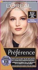 L'Oreal Preference Cool Blondes - Трайна боя за коса в студени руси нюанси - шампоан