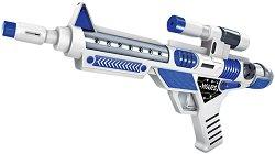 Пушка - Бластер - Детска играчка със светлинни и звукови ефекти - играчка