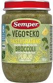 Semper - Био пюре от паста с броколи и праз - продукт