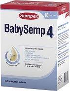 Преходно мляко - Baby Semp 4 -