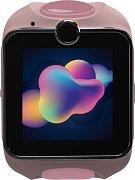 Детски GPS и GSM смарт часовник с тъч скрийн - MyKi Junior Exclusive Pink - Работещ със SIM карти на всички български мобилни оператори