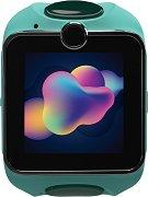 Детски GPS и GSM смарт часовник с тъч скрийн - MyKi Junior Exclusive Mint - Работещ със SIM карти на всички български мобилни оператори