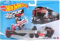 """Super Rigs - Sky Show Rig - Камион и самолет от серията """"Hot Wheels"""" -"""