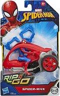 """Кола за каскади - Детски комплект за игра с аксесоари от серията """"Спайдърмен"""" - продукт"""
