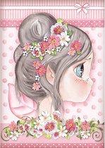 Декупажна хартия - Розова фея