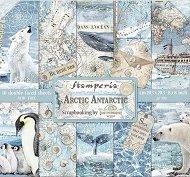 Хартии за скрапбукинг - Арктика
