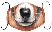 Универсална трислойна маска за многократна употреба - Куче - Комплект с филтър