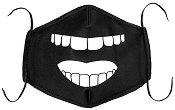 Универсална трислойна маска за многократна употреба - Усмивка - Комплект с филтър