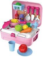 Кухня в куфарче - Детски комплект с аксесоари -