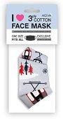 Трислойна предпазна маска за многократна употреба - Снежен лифт