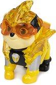 """Ръбъл в суперкостюм - Детска играчка със светлинни ефекти от серията """"Пес патрул"""" - топка"""