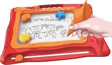 Магнитна дъска за рисуване - Морски свят - играчка