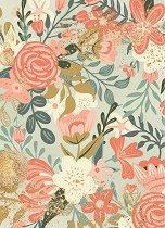 Декупажна хартия - Цветя - Формат А4