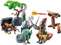 """Стартов комплект - Битката за съкровището - Детски конструктор от серията """"Рицари"""" - играчка"""