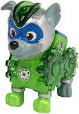 """Роки в суперкостюм - Детска играчка със светлинни ефекти от серията """"Пес патрул"""" - топка"""