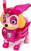 """Скай в суперкостюм - Детска играчка със светлинни ефекти от серията """"Пес патрул"""" -"""