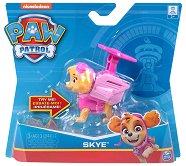 """Скай в костюм - Детска играчка със звукови ефекти от серията """"Пес патрул"""" - топка"""