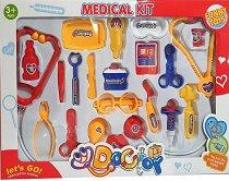 Лекарски комплект - Детски комплект за игра -