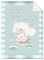 Бебешко двулицево одеяло - Polar Fisher - С размери 80 x 110 cm -