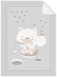 Бебешко двулицево одеяло - Polar Fisher - С размери 110 x 140 cm -