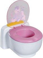 """Забавна тоалетна със звукови ефекти - Аксесоар за кукла от серията """"Baby Born"""" -"""