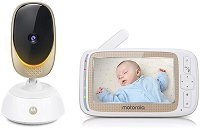 Дигитален видео бебефон - Comfort 85 Connect - С Wi-Fi, температурен датчик, мелодии, нощно виждане и възможност за обратна връзка - продукт