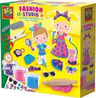 Модно студио с блестящ пластилин -