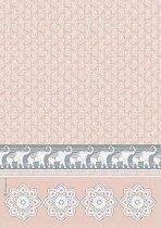 Декупажна хартия - Слонове - Формат А4