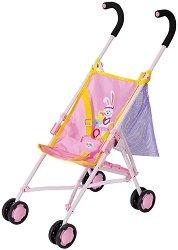 """Сгъваема количка и чанта - Комплект аксесоари за кукла от серията """"Baby Born"""" -"""