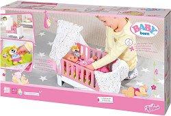 """Легло за кукла - Комплект аксесоари от серия """"Baby Born"""" -"""
